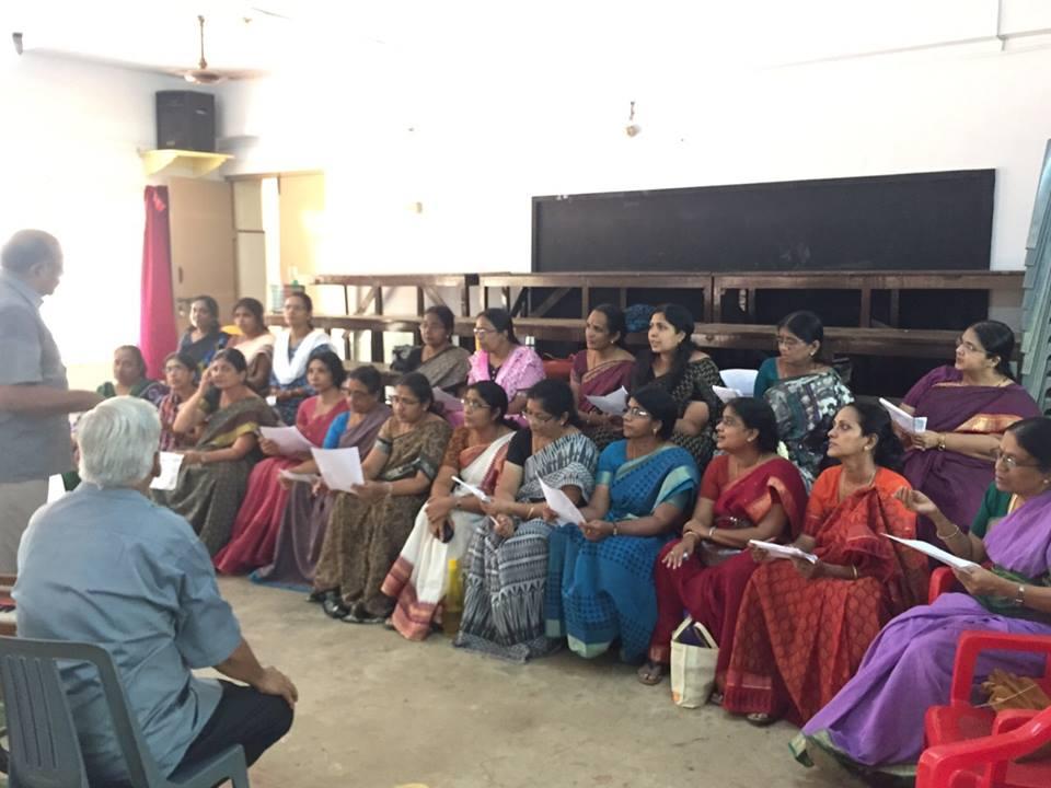 3 - Workshop for Vidhya Mandir teachers