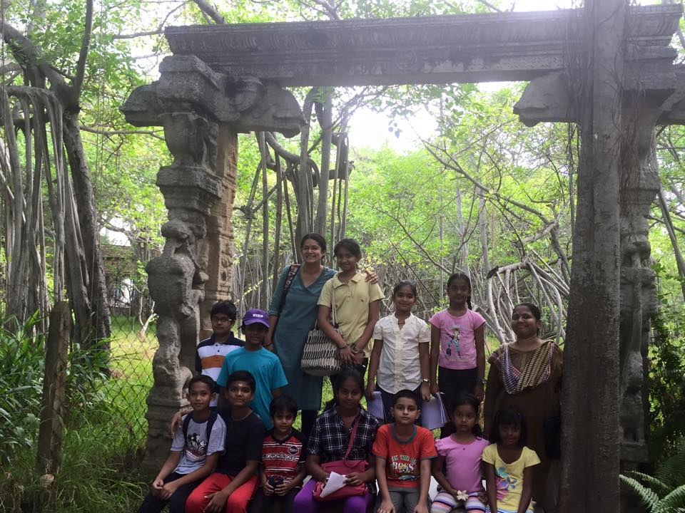 4A - Nature trail to TS with Gayathree & Preethi