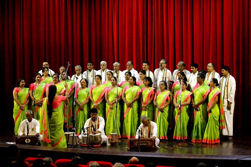 5-A MYC performing on 8th May, 2015 at Russian Centre