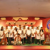 Workshop participants performing at Erode