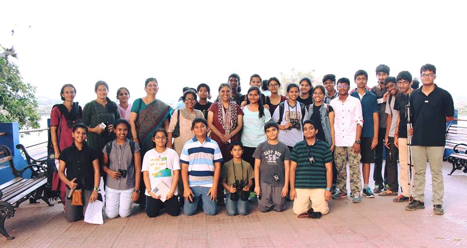 Gayathree and VM children on field trip