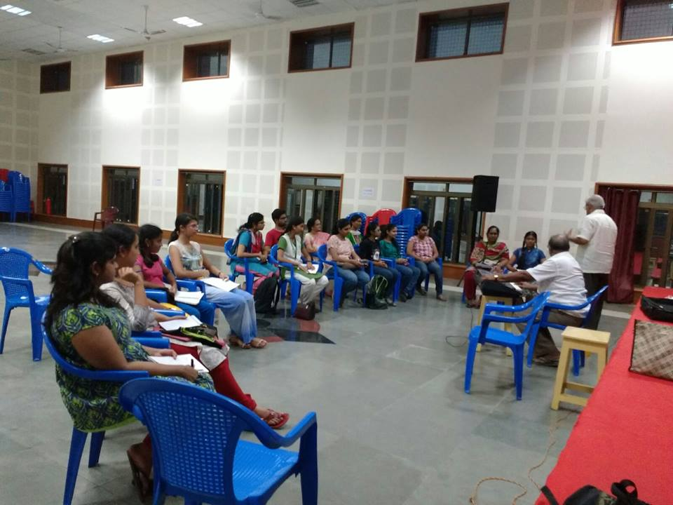 Training sessions at IIT, Madras